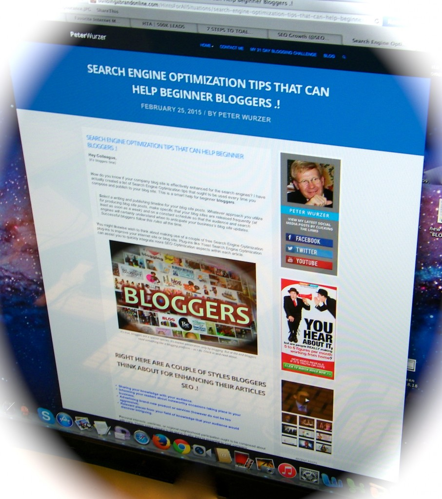 A Blogging Example